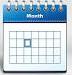 calendario azul
